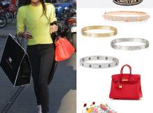 Elisabetta-Gregoraci-sneakers-Balenciaga-bracciali-Cartier-Anita-Ko-e-Dior-borsa-Hermes-10
