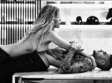 Wanda e Icardi, topless e avvinghiamenti hot